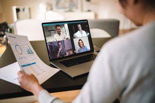 Foto: Virtuelles Meeting